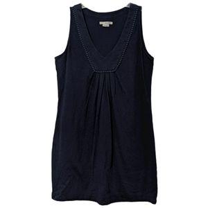 Boden Tarifa Dress Navy Sleeveless V-Neck WH652